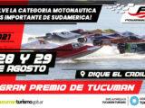 La F1 Powerboat vuelve a la acción en Tucuman