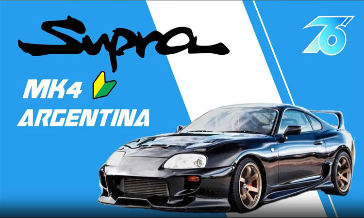 Unica Supra MK4 JDM de Argentina!
